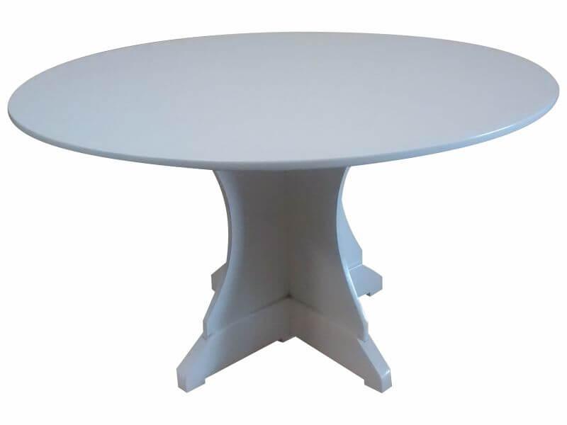 mesa 1.20 mts base central